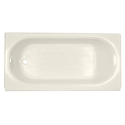 Extra wide bathtub wayfair for Extra long soaking tub