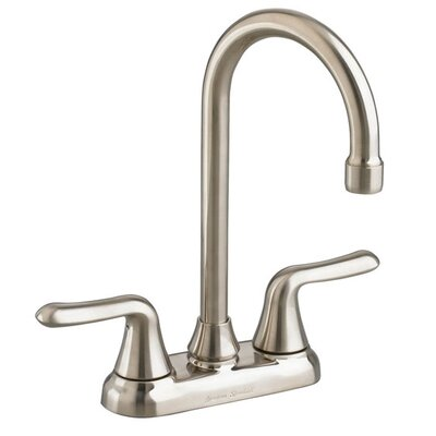 American Standard Colony Soft Two Handle Centerset Bar Faucet with Metal Lever Handles