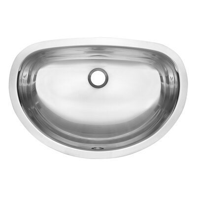 American Standard Large Oval Undermount Vanity Basin in Radiant Silk