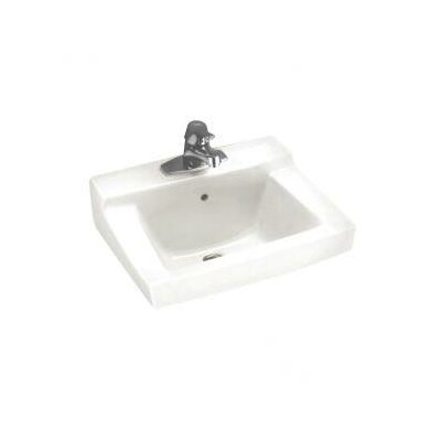 Declyn Wall Mount Bathroom Sink with Center - 0321.975