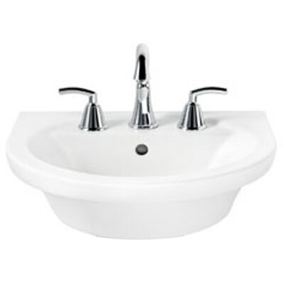Tropic Petite Pedestal Bathroom Sink Set - 0403