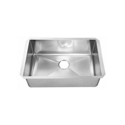 "American Standard 37"" x 20"" Undermount Single Bowl Kitchen Sink"