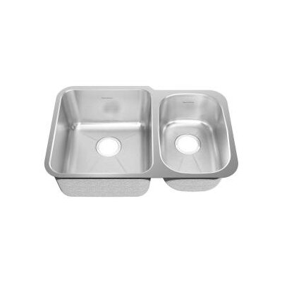 "American Standard 28.5"" x 18.75"" Undermount Double Combination Bowl Kitchen Sink"