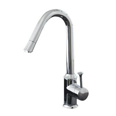 Pekoe Single Handle Single Hole kitchenFaucet with Hi Flow Spout