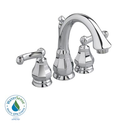 American Standard Dazzle Widespread Bathroom Faucet with Double Lever Handles