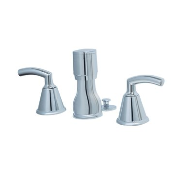 American Standard Tropic Double Handle Vertical Spray Bidet Faucet