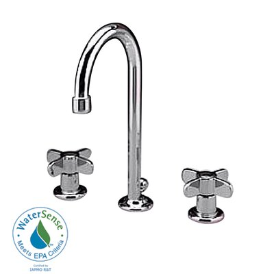 American Standard Heritage Widespread Bathroom Faucet with Double Lever Handles