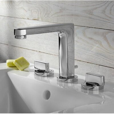 American Standard Moments Centerset Bathroom Sink Faucet with Double Lever Handles