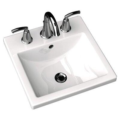 American Standard Studio Carre Countertop Bathroom Sink