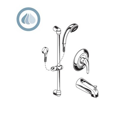 Moen Commercial Three Function Tub And Shower System