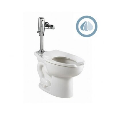 American Standard Madera Ada Selectronic Everclean Flush Valve 1.1 GPF Elongated 1 Piece Toilet