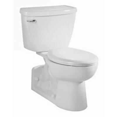 American Standard Yorkville Flowise Right Height Pressure Assisted 1.1 GPF Elongated 2 Piece Toilet