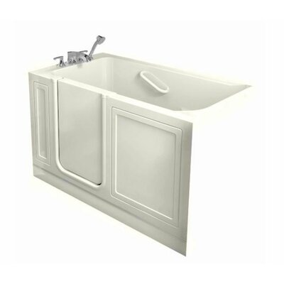 "American Standard Acrylic 51"" x 30"" Walk-In Combo Massage Tub"