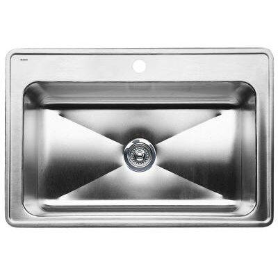 "Blanco Magnum 33"" x 22"" Single Bowl Drop-In Kitchen Sink"