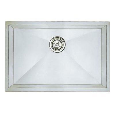 Blanco Precision Single Bowl Undermount Kitchen Sink in Polished Satin