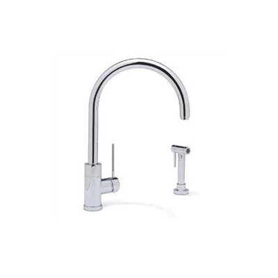 Purus II Single Handle Single Hole Kitchen Faucet with Metal Side Spray