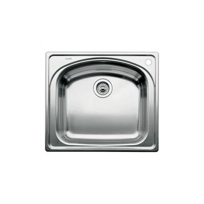 "Blanco Wave 25"" x 22"" Single Bowl Drop-In Kitchen Sink"