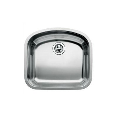 "Blanco Wave 22.44"" x 20.47"" Single Bowl Undermount Kitchen Sink"