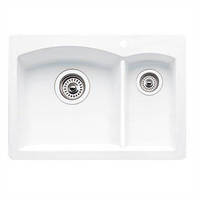 Blanco Diamond Drop-In Prep Sink