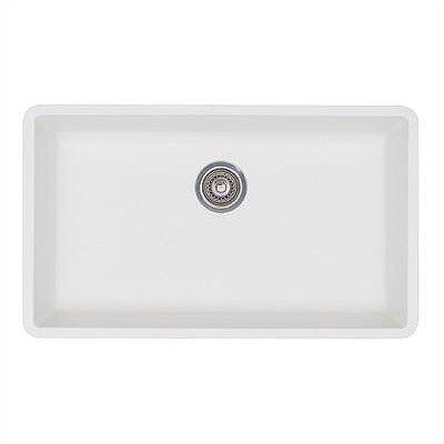 """Blanco Precis 32"""" x 19"""" Super Single Bowl Kitchen Sink"""