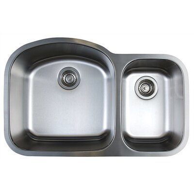Blanco Stellar 1.6 Double Bowl Undermount Kitchen Sink