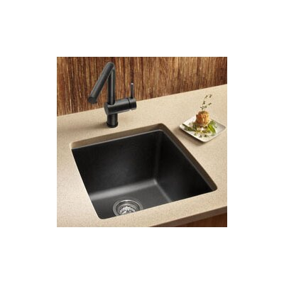 "Blanco Performa 17.5"" x 17"" Silgranit II Single Bowl Undermount Bar Sink"