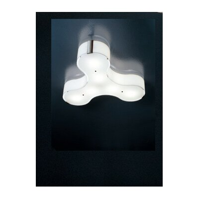 "Studio Italia Design Tris 5.11"" Wall / Ceiling Light"