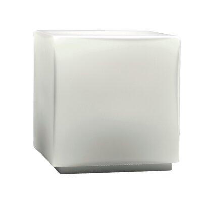 """Studio Italia Design Chop 4.92"""" H Cubic Table Lamp"""