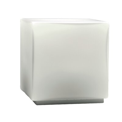 "Studio Italia Design Chop 5.51"" H Cubic Table Lamp"
