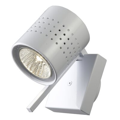 Studio Italia Design Minimania 1 Light Wall or Ceiling Fixture with Perforated Metal Diffuser