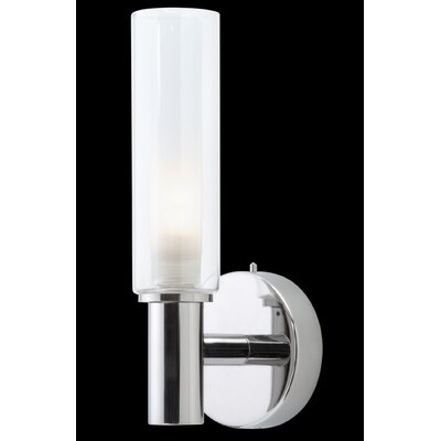 Studio Italia Design Sophie 1 Light Wall Sconce with Glass Diffuser