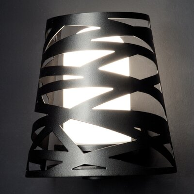 Studio Italia Design Tornado 1 Light Outdoor Laser Cut Wall Sconce