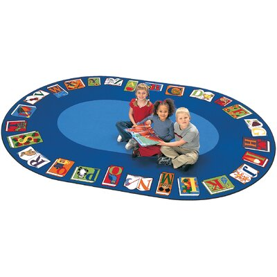 Carpets for Kids Literacy Reading by the Book Kids Rug