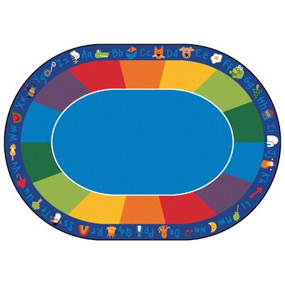 Carpets for Kids Printed Fun with Phonics Horizontal Kids Rug
