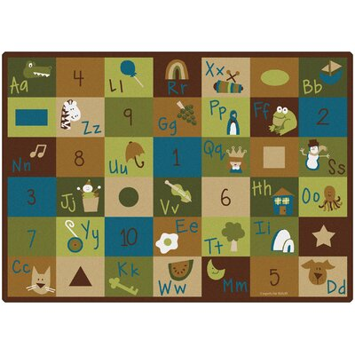 Carpets for Kids Learning Blocks Nature Kids Rug