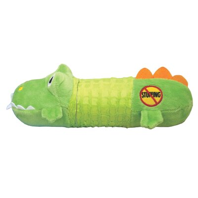 PetStages Big Squeak Gator Toy in Multi Colored