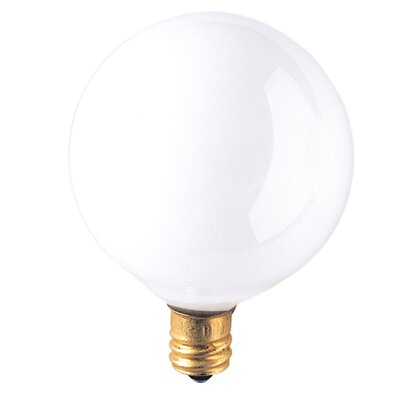 Bulbrite Industries Candelabra 25W Frosted 130-Volt (2700K) Incandescent Light Bulb