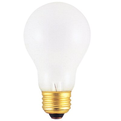 Bulbrite Industries Frosted 220 - Volt (2600K) Incandescent Light Bulb (Pack of 2)