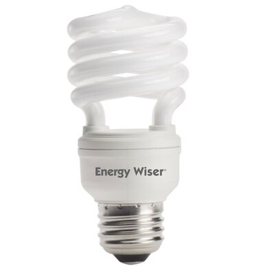 Bulbrite Industries Super Mini 13W 120-Volt Fluorescent Light Bulb