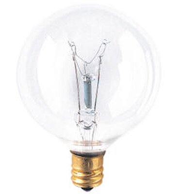 Bulbrite Industries Candelabra 130-Volt (2700K) Incandescent Light Bulb