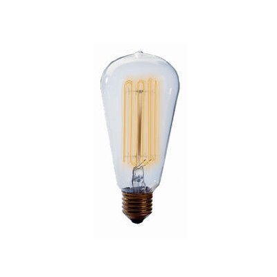 Bulbrite Industries 40W Nostalgic Edison Squirrel Cage-Style Bulb