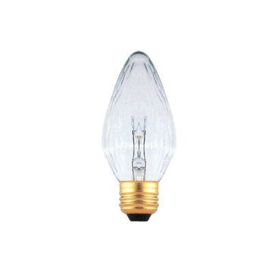 Bulbrite Industries 15W Clear Fiesta Style F10 Chandelier Bulb
