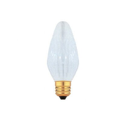 Bulbrite Industries 25W Fiesta Style F15 Chandelier Bulb in White