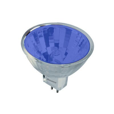 Bulbrite Industries 20W Bi-Pin MR11 Halogen Bulb in Blue