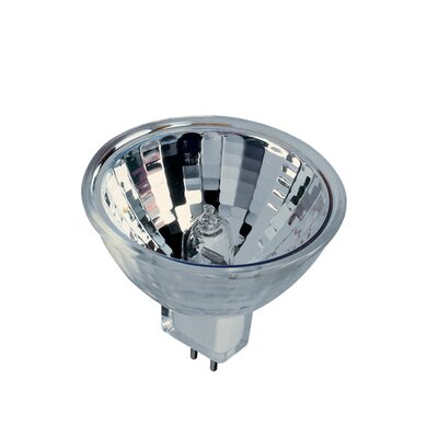 Bulbrite Industries 65W Bi-Pin MR16 Halogen Lensed Flood Bulb in Clear