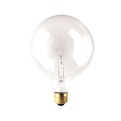Bulbrite Industries Medium Base G40 Globe Incandescent Bulb