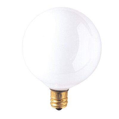 Bulbrite Industries G16 Candelabra Incandescent Bulb