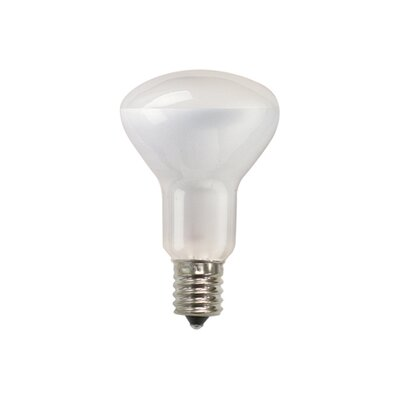 Bulbrite Industries 50W Incandescent R16 Reflector Fan Bulb with Intermediate E17 Base in Clear