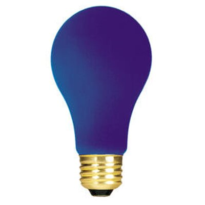 Bulbrite Industries 60W A19 Bulb in Ceramic Blue