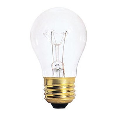Bulbrite Industries 60W Incandescent A15 Fan Bulb in Clear